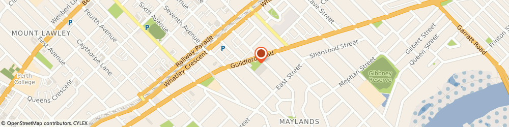 Route/map/directions to ANZ ATM, 6051 Maylands, 194 Guildford Rd