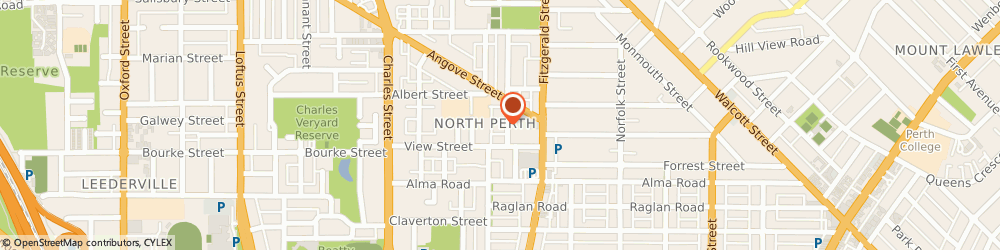 Route/map/directions to Casson Homes Inc, 6006 North Perth, 5 Woodville Street