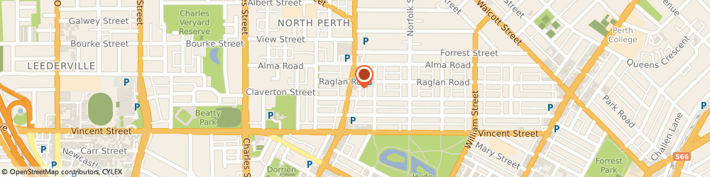 Route/map/directions to My Living Travel, 6006 North Perth, Suite 8 362 Fitzgerald Street