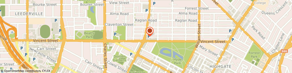 Route/map/directions to South Perth Naturopathic & Herbal Clinic, 6006 North Perth, 324 Fitzgerald St