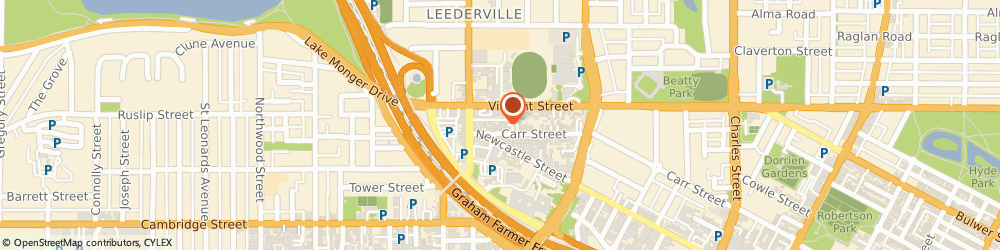 Route/map/directions to Psychological Services, 6007 Perth, 11/224 Carr Pl