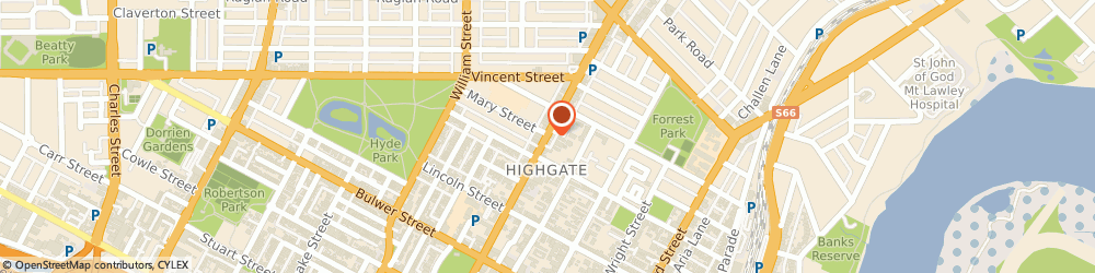 Route/map/directions to Keturah Day Spa, 6003 Highgate, 500 Beaufort Street