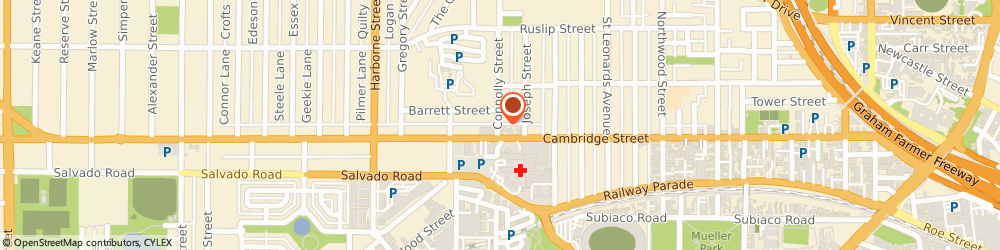 Route/map/directions to Body Balance Nutrition, 6007 West Leederville, 176A Cambridge St