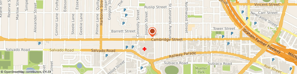 Route/map/directions to Western Ultrasound for Women, 6007 West Leederville, Unit 1/ 160A Cambridge St