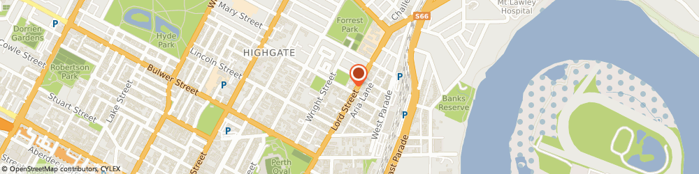 Route/map/directions to Allen Val & Partners Perth Natural Medical Clinic, 6000 Perth, 361 Lord Street