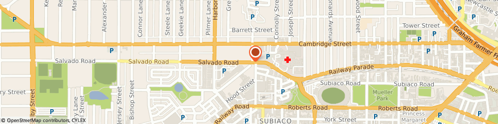 Route/map/directions to SKG Subiaco, 6008 Subiaco, 12 Salvado Rd