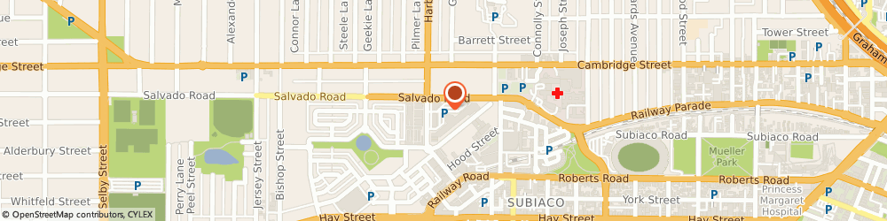 Route/map/directions to West Coast Elevators, 6008 Subiaco, 55 Salvado Road