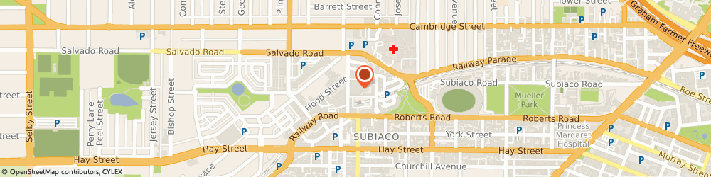 Route/map/directions to St Francis Medical, 6008 Subiaco, 11 / 29 Station St