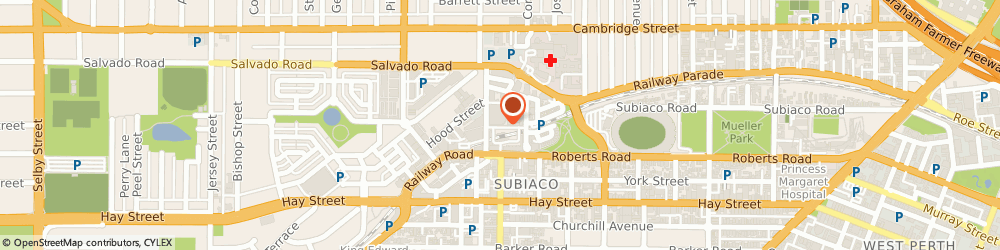 Route/map/directions to BWS Subiaco Square, 6008 Subiaco, 29 Station Street