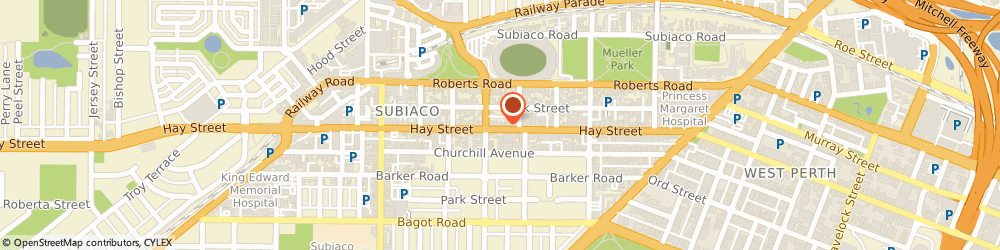 Route/map/directions to Hairfree Subiaco, 6008 Subiaco, 290A Hay St