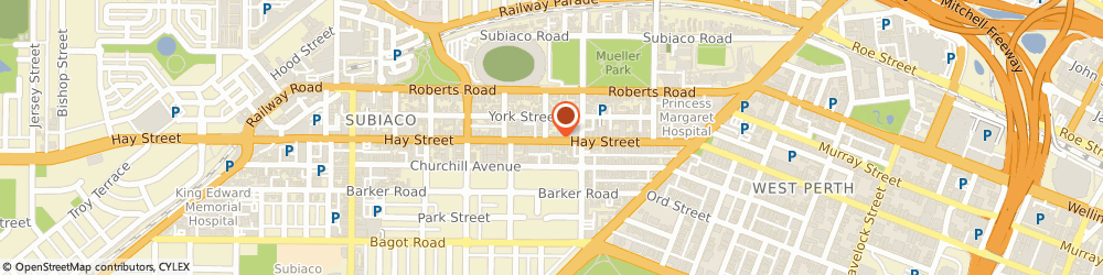 Route/map/directions to Comfort Hotel Perth City, 6805 Perth, 200 Hay St