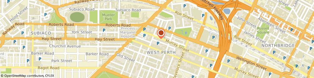 Route/map/directions to Epcad Consultants (Australia) Pty Ltd, 6005 West Perth, 28-30 Mayfair Street