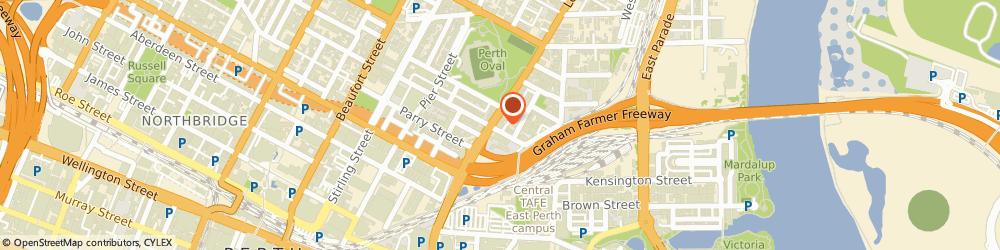 Route/map/directions to HelpingMinds, 6000 Perth, 182 Lord Street