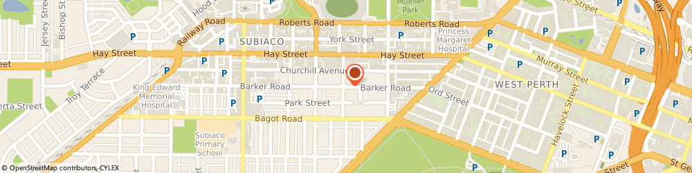 Route/map/directions to Dr Phil Daborn, 6008 Subiaco, 5/400 Barker Rd