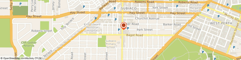 Route/map/directions to Cotton On, 6008 Subiaco, 165 Rokeby Road