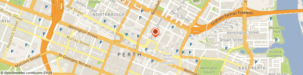 Route/map/directions to AACDS Student Clinic Perth, 6000 Perth, 60-62 Stirling Street