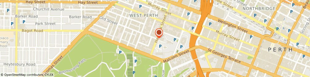 Route/map/directions to IDG PTY LTD, 6005 West Perth, 4/2/28 Ord St