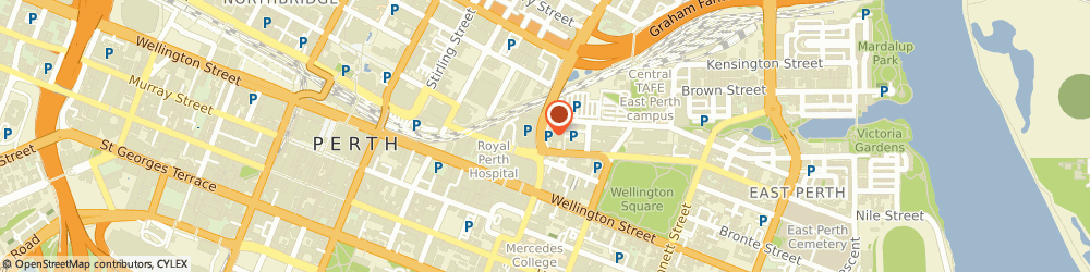 Route/map/directions to mycar, 6004 East Perth, 52-62 Lord Street