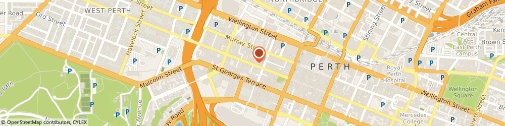 Route/map/directions to Pellegrini's Christian Supplies, 6000 Perth, 858 HAY STREET
