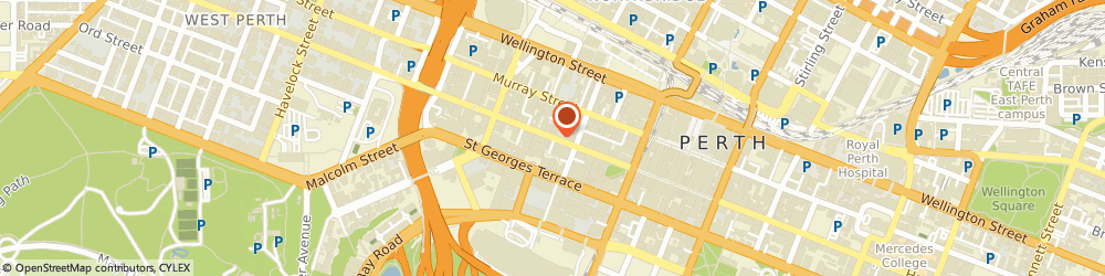 Route/map/directions to Friendlies Chemist Perth, 6000 Perth, 849 Hay Street