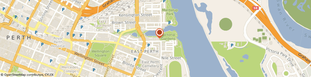 Route/map/directions to Rejuvenate Clinic, 6004 East Perth, 75/20 Royal Street