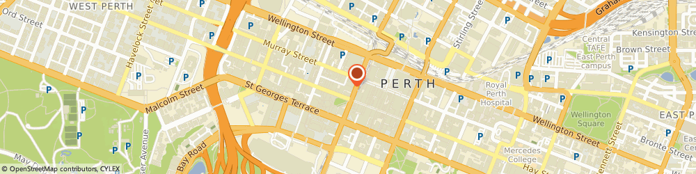 Route/map/directions to Laser Clinics Australia - Perth CBD, 6000 Perth, Shop 3, Wesley Quarter