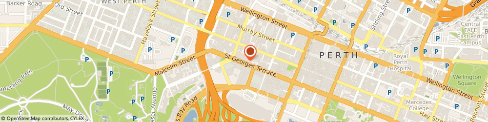Route/map/directions to Clinical One, 6000 Perth, LEVEL 7, 220 ST GEORGES TCE