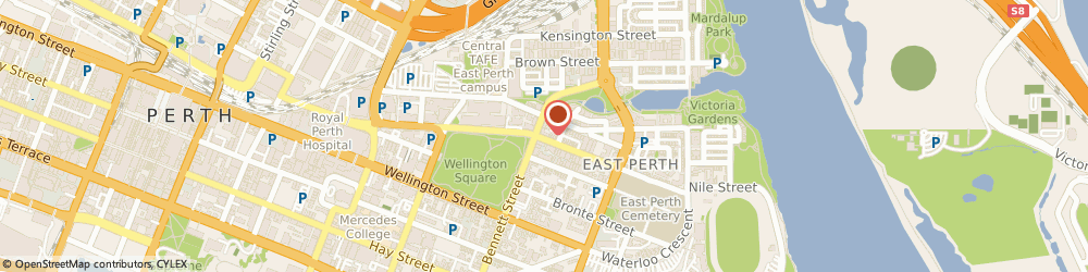 Route/map/directions to Aqua Filter, 6004 East Perth, 30/70 Wittenoom Street