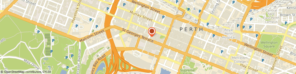 Route/map/directions to Cpe Group, 6000 Perth, LEVEL 5 172-176 ST GEORGES TCE