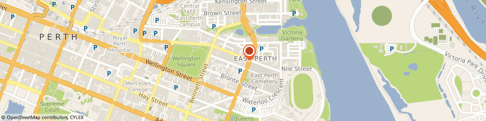 Route/map/directions to JS Podiatry, 6004 East Perth, 17 Wittenoom Street