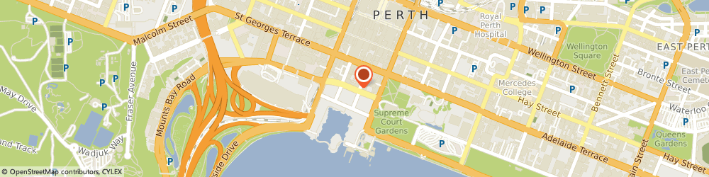 Route/map/directions to Ray White Commercial WA, 6000 Perth, Ground Floor, 12-14 The Esplanade