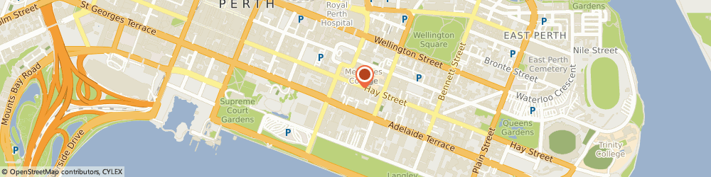 Route/map/directions to Ing Phu Aroma Thai Massage Therapy, 6000 Perth, 1/375 Hay St