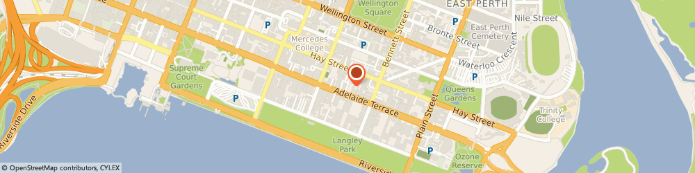 Route/map/directions to Quality Hotel Ambassador Perth, 6004 Perth, 196 Adelaide Terrace