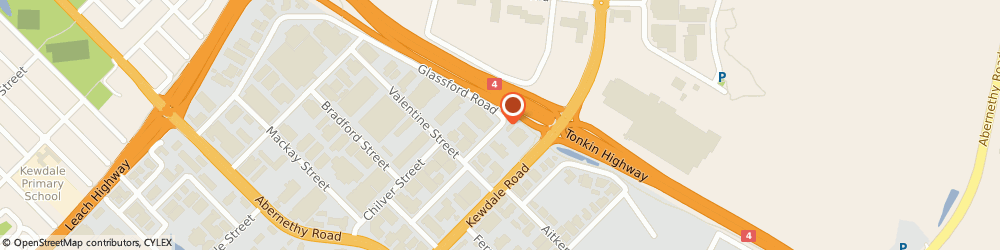 Route/map/directions to Aluminium Innovations Pty Ltd, 6105 Kewdale, 6-8 NORLIN ST