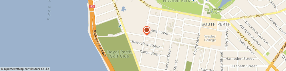 Route/map/directions to Locksmith South Perth, 6151 South Perth, 59 Angelo st