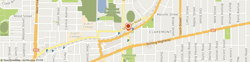 Route/map/directions to Westpac Claremont, 6010 Claremont, 23 St Quintins Street Claremont