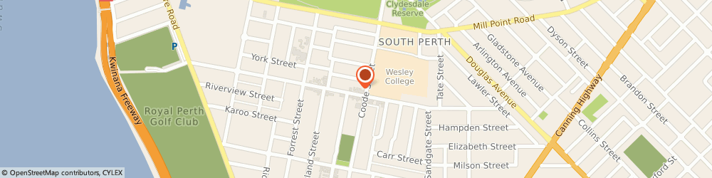 Route/map/directions to ANZ ATM, 6151 South Perth, 80 Angelo St