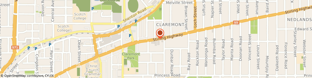 Route/map/directions to Reece Claremont, 6010 Claremont, Unit 3/251 Stirling Highway