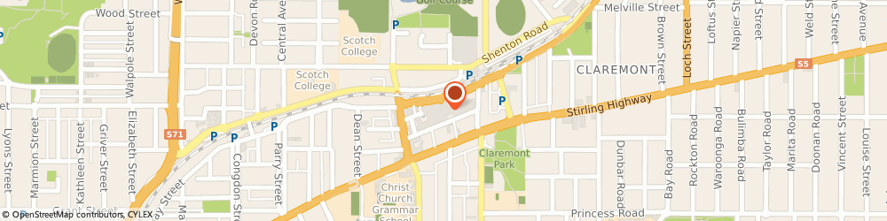 Route/map/directions to St George Bank Claremont O/S ATM, 6010 Claremont, 23 St Quentin Ave