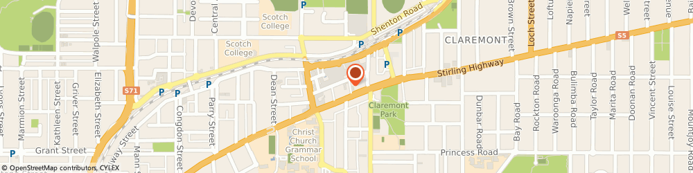 Route/map/directions to Erazer - Perth IPL Clinic, 6010 Claremont, Suite 24, 22 St Quentin Ave