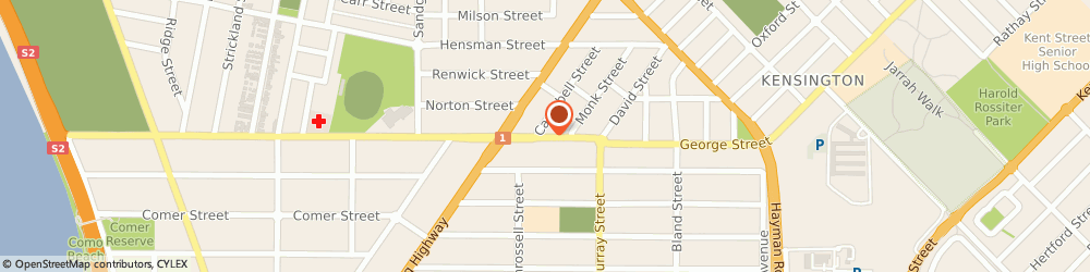 Route/map/directions to Physical Nutrition, 6151 Perth, 68 South Terrace