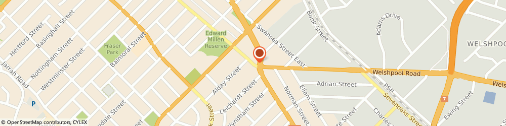 Route/map/directions to Hong Kong Furniture Company The, 6102 St James, 1115/1119 Albany Hwy