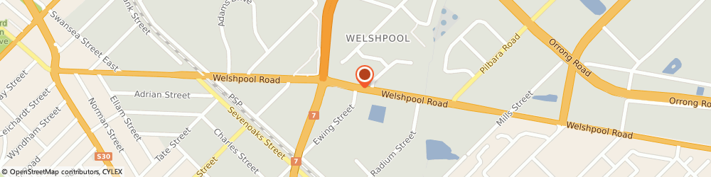 Route/map/directions to Restyle Innovations, 6106 Welshpool, 99 Ewing Street