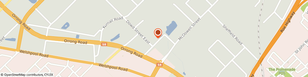 Route/map/directions to EcoDiagnostics Pty Ltd, 6106 Welshpool, 46-48 Banksia Rd