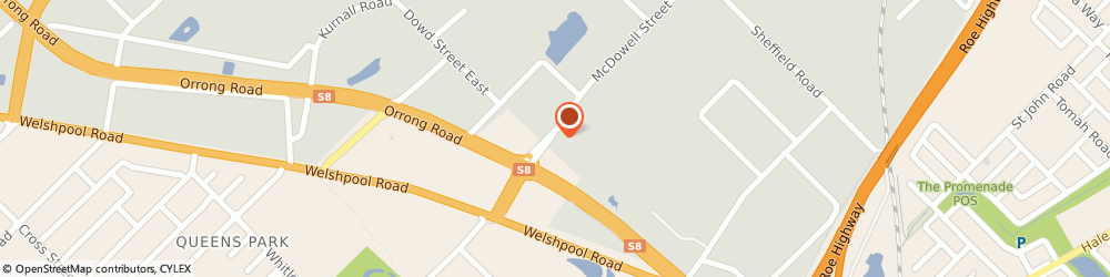 Route/map/directions to Jason Windows, 6106 Welshpool, 1 MC DOWELL STREET