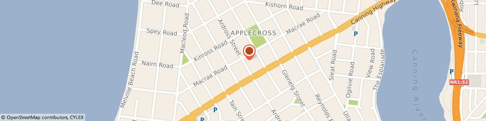 Route/map/directions to Ardross Chiropractic Clinic, 6153 Applecross, 2/42 Ardross St