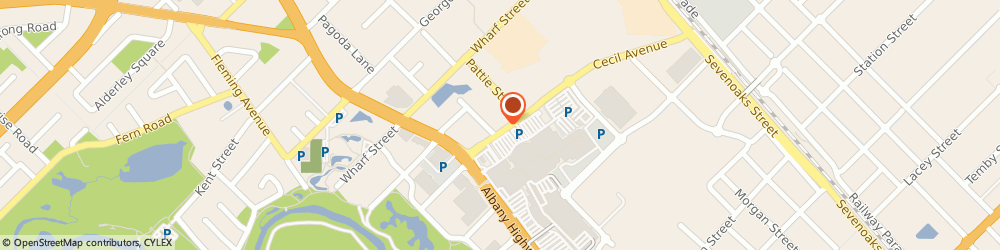 Route/map/directions to Cannington Carousel Chiropractic Clinic, 6107 Cannington, 14 Cecil Ave