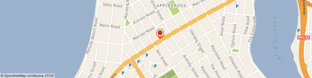 Route/map/directions to Vitality Family Chiropractic, 6153 Applecross, 800 Canning Highway