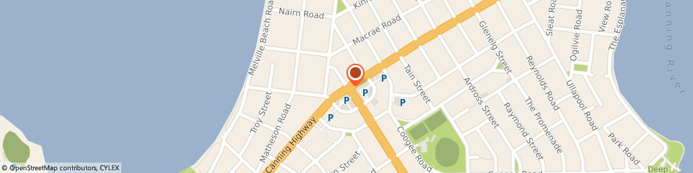 Route/map/directions to Bodyright Massage, 6153 Applecross, 8 Riseley St