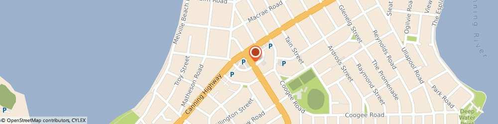 Route/map/directions to Quantum Training Institute, 6210 Perth, 9A RISELEY SQUARE,